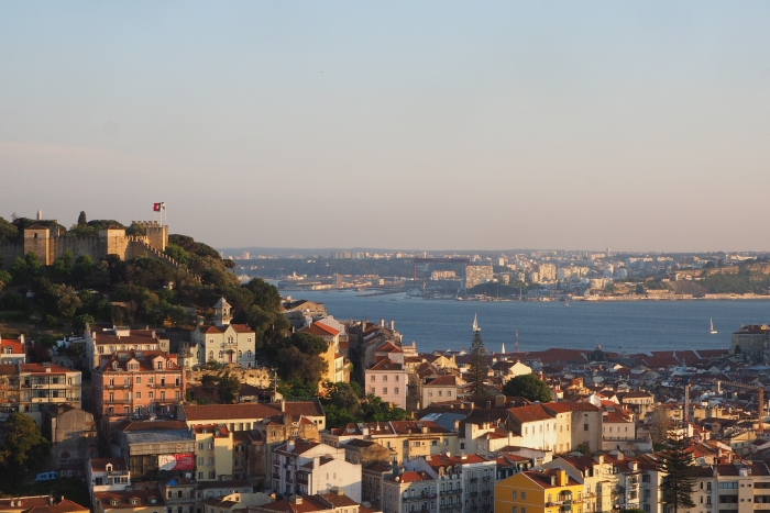 Miradouro Da Senhora Do Monte O Pôr Do Sol Em Lisboa Descubra Lisboa