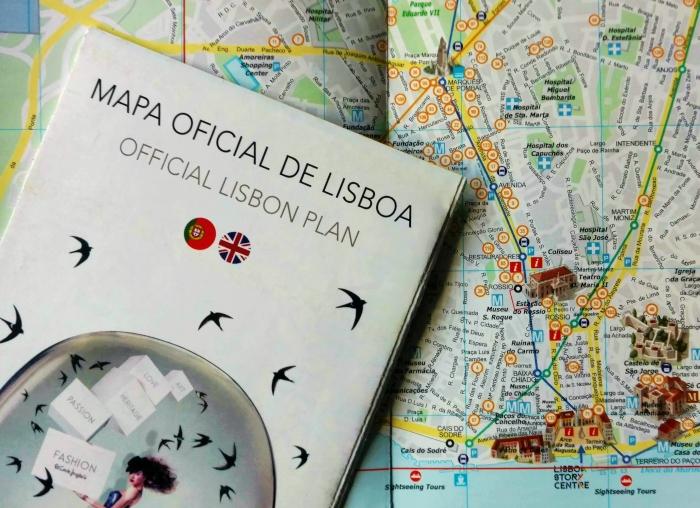 Mapa De Lisboa Principais Atracoes Da Cidade Descubra Lisboa